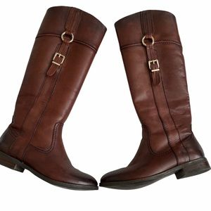 Arnold Churgin Ombre Hickory Brown Tall Boots